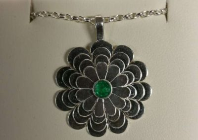 handmade chain and pendant