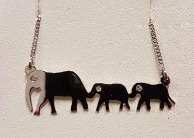 silver elephants